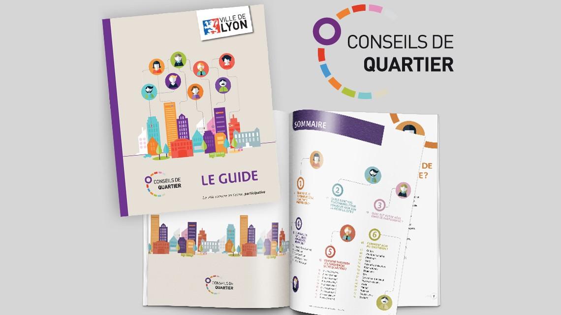 Ville de Lyon – Guide conseils de quartiers