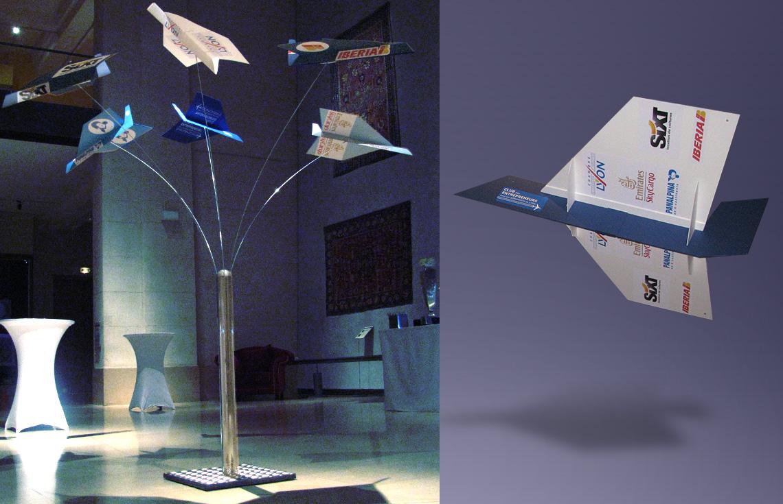 Club des entrepreneurs pour les aéroports de Lyon-Graphic Swing