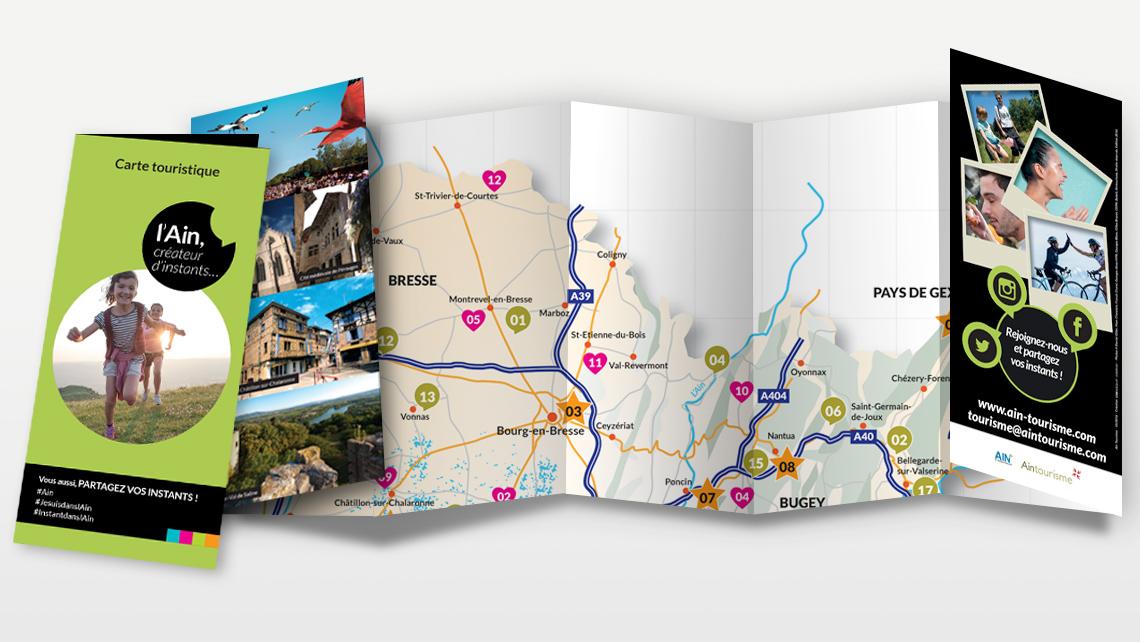 Carte Ain Tourisme