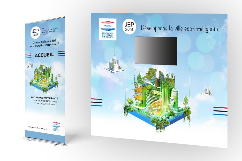 FPI France - direction artistique - 3D - Gaphic-Swing-Ville-eco-intelligente-stand