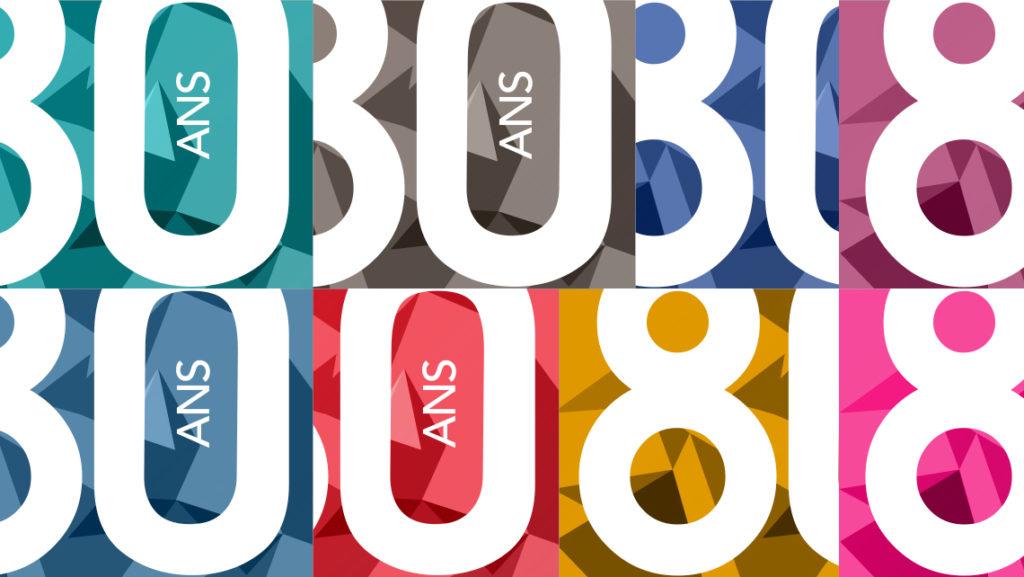Groupe-Apicil 80 ans - Logo de l'événement Sagarmatha - Declinaison couleurs - Graphic Swing