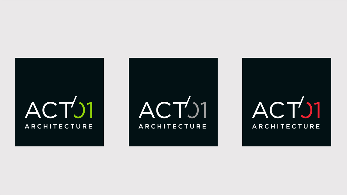 Act'01 Architecture – Création logo – Graphic Swing
