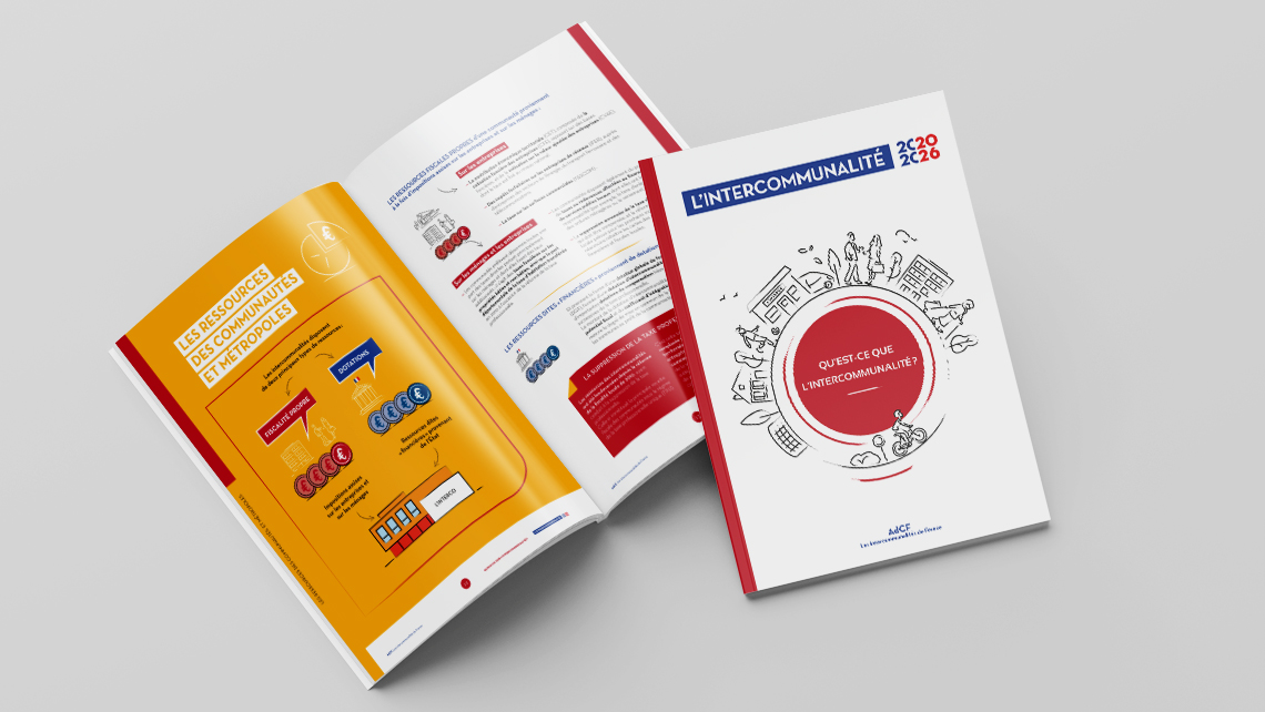 AdCF, les intercommunalités de France. Interco 2020-2026. Graphic Swing
