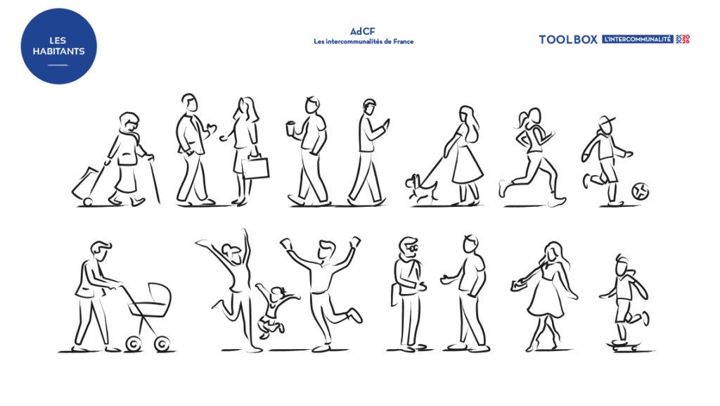AdCF, les intercommunalités de France. Graphic Swing. Toolbox1