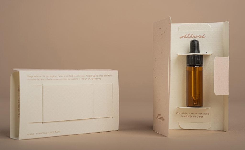Albori-Porte-echantillon savon à froid